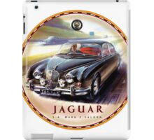 Jaguar Saloon cars iPad Case/Skin