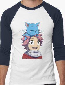Fairy Tail - Happy and Natsu Cute T-Shirt