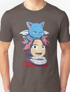 Fairy Tail - Happy and Natsu Cute T-Shirt