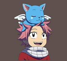 Fairy Tail - Happy and Natsu Cute Unisex T-Shirt