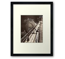 Lost Highway Framed Print