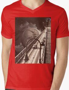 Lost Highway Mens V-Neck T-Shirt