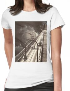 Lost Highway Womens Fitted T-Shirt