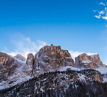 Italian Dolomiti ready for ski season by zakaz86