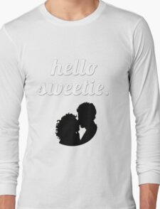Hello Sweetie {FULL} Long Sleeve T-Shirt