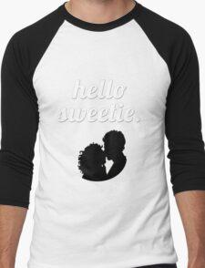 Hello Sweetie {FULL} Men's Baseball ¾ T-Shirt