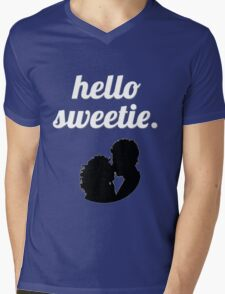 Hello Sweetie {FULL} Mens V-Neck T-Shirt