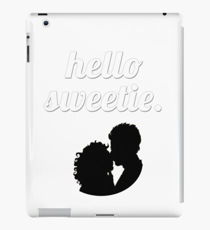Hello Sweetie {FULL} iPad Case/Skin