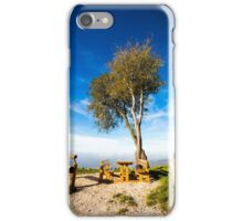 foggy morning in the bay of Trieste iPhone Case/Skin