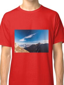 Autumn morning in the alps Classic T-Shirt