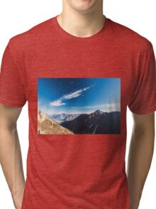 Autumn morning in the alps Tri-blend T-Shirt