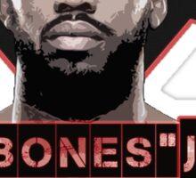 Jon Bones Jones UFC fighter Sticker