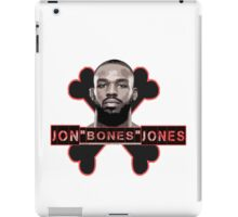Jon Bones Jones UFC fighter iPad Case/Skin