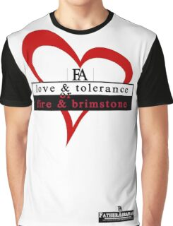 Love & Fire Graphic T-Shirt