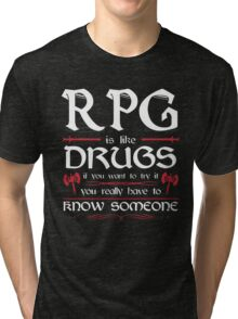 RPG - Roleplay Game Tri-blend T-Shirt