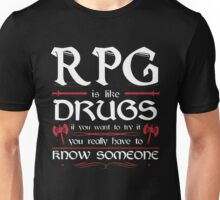 RPG - Roleplay Game Unisex T-Shirt