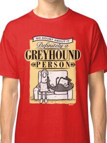 Greyhound Person Classic T-Shirt
