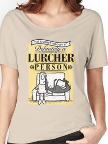 Lurcher Person Women's Relaxed Fit T-Shirt