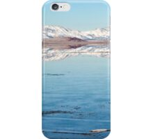 Snow Cap Salt Flats iPhone Case/Skin
