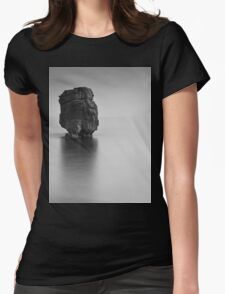 Sunset on the beach Womens Fitted T-Shirt
