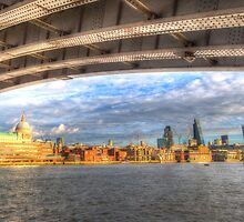City of London and River Thames by DavidHornchurch