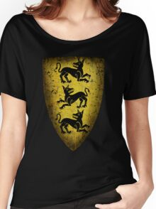 House Clegane Sigil from Game of Thrones Women's Relaxed Fit T-Shirt