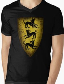 House Clegane Sigil from Game of Thrones Mens V-Neck T-Shirt
