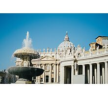 St Peter's Square Photographic Print
