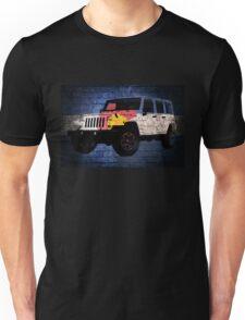 Colorado flag Jeep wrangler wrap brick wall Unisex T-Shirt
