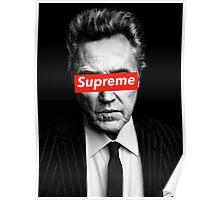 Supreme Christopher Walken Poster