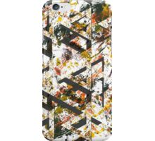TRI-ANGLES yellow iPhone Case/Skin
