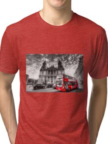 St Paul's Cathedral London Tri-blend T-Shirt