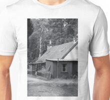 Tin house in the woods Unisex T-Shirt