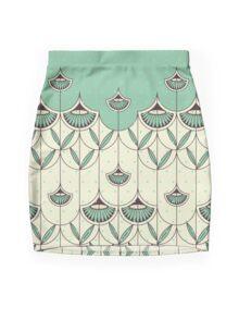 Blooming Winter 2 Mini Skirt