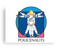 Policenauts Logo Canvas Print
