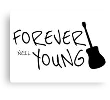 Forever Neil Young Rock Music Gift Canvas Print