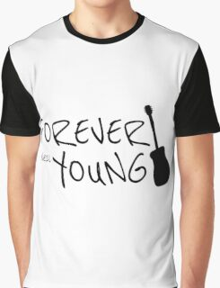 Forever Neil Young Rock Music Gift Graphic T-Shirt