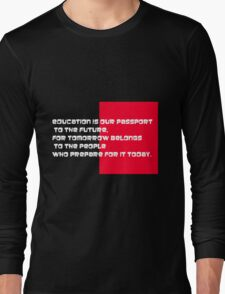 EDUCATION IS OUR PASSPORT T-Shirt