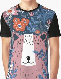 Bear Garden Graphic T-Shirt