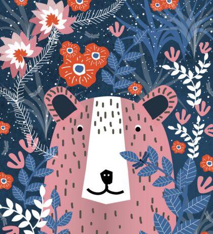 Bear Garden Sticker