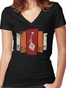 Room 237 Women's Fitted V-Neck T-Shirt