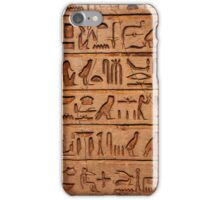 Egyptian tablet 0001 iPhone Case/Skin