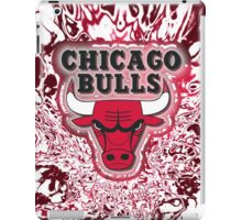 The Bulls is on fire!! iPad Case/Skin