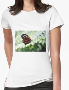 Perched Womens Fitted T-Shirt