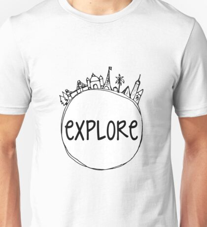 Explore Globe Unisex T-Shirt