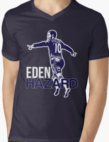 Eden Hazard Chelsea Mens V-Neck T-Shirt