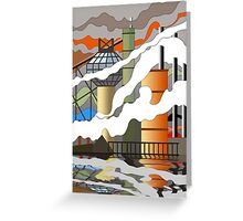 industry 2 Greeting Card
