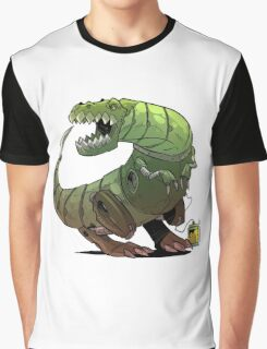 Robot T-rex Graphic T-Shirt