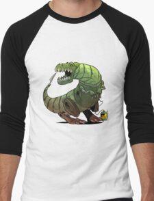 Robot T-rex Men's Baseball ¾ T-Shirt