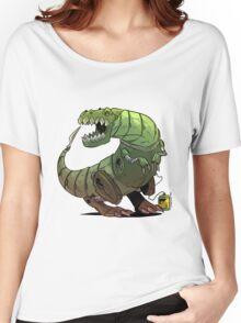 Robot T-rex Women's Relaxed Fit T-Shirt